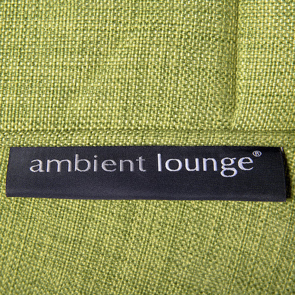 lime green indoor bean bag by Ambient Lounge