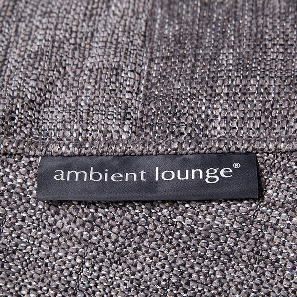 grey acoustic bean bag by Ambient Lounge