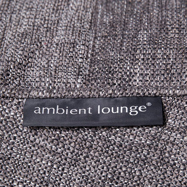 Luscious grey fabric by ambient lounge swatch