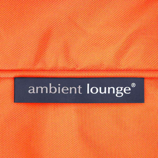 orange conversion lounger bean bag by Ambient Lounge