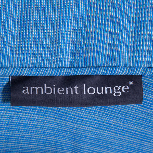 blue butterfly bean bag by Ambient Lounge