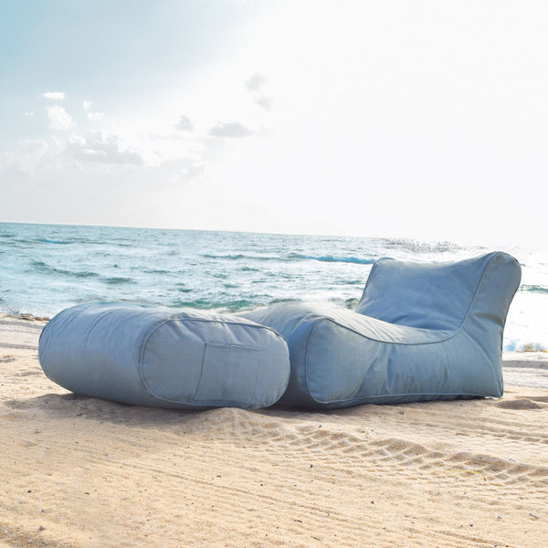 Studio Chaise Set (Blue Sky Eclipse )