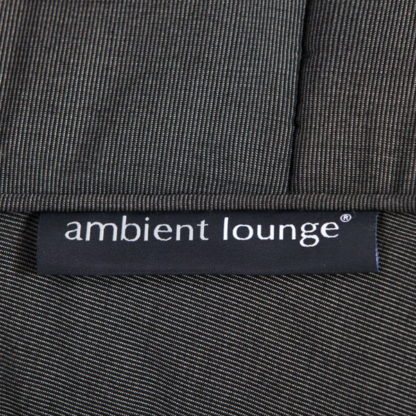 black butterfly Sunbrella fabric bean bag by Ambient Lounge