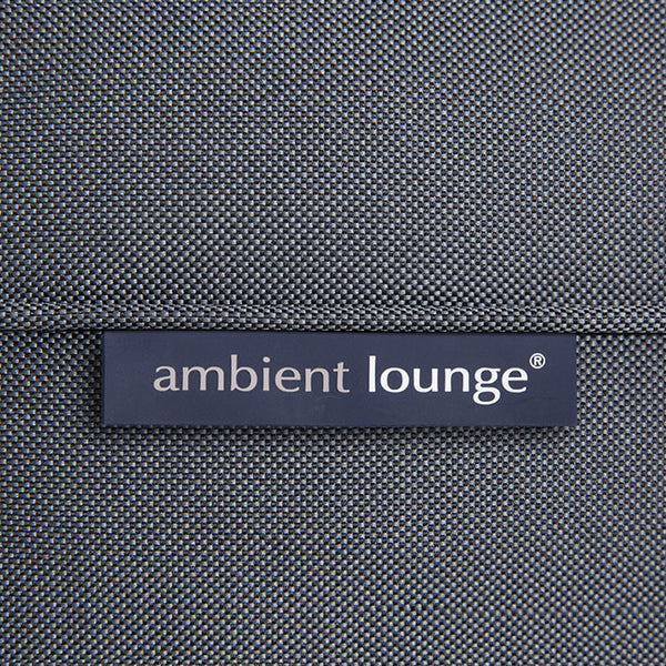 black studio lounger bean bag by Ambient Lounge