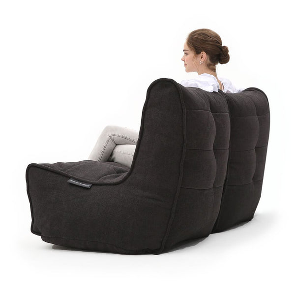 Twin Couch - Black Sapphire