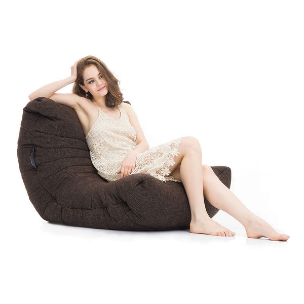brown acoustic bean bag by Ambient Lounge