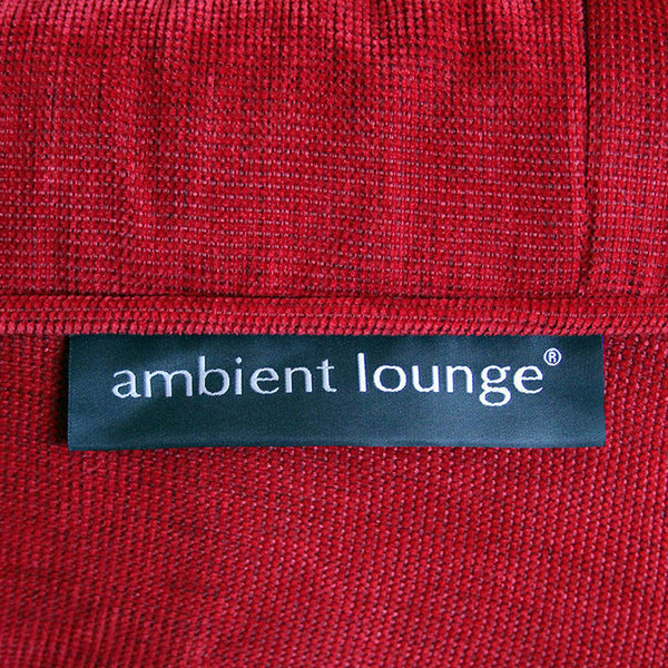 red indoor table furniture by Ambient Lounge