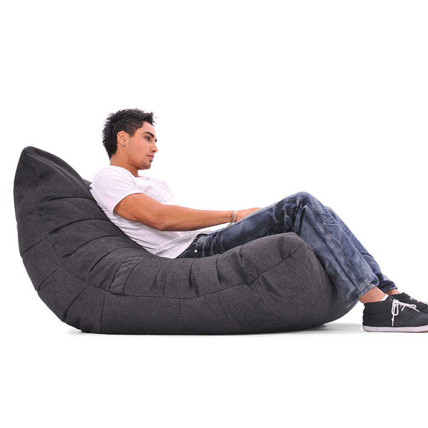 black acoustic bean bag by Ambient Lounge