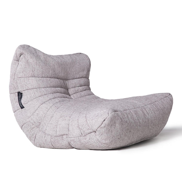white acoustic bean bag by Ambient Lounge