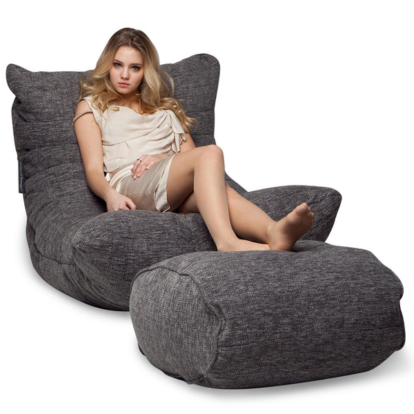 Acoustic Chaise Set (Luscious Grey)