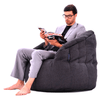 black indoor bean bag by Ambient Lounge