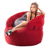 red indoor bean bag by Ambient Lounge