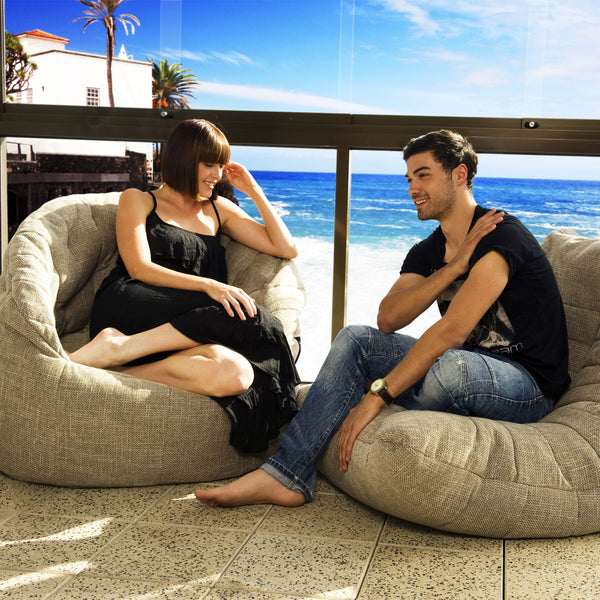 beiege acoustic bean bag by Ambient Lounge