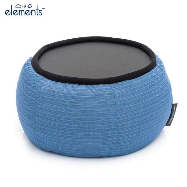blue versa table bean bag by Ambient Lounge
