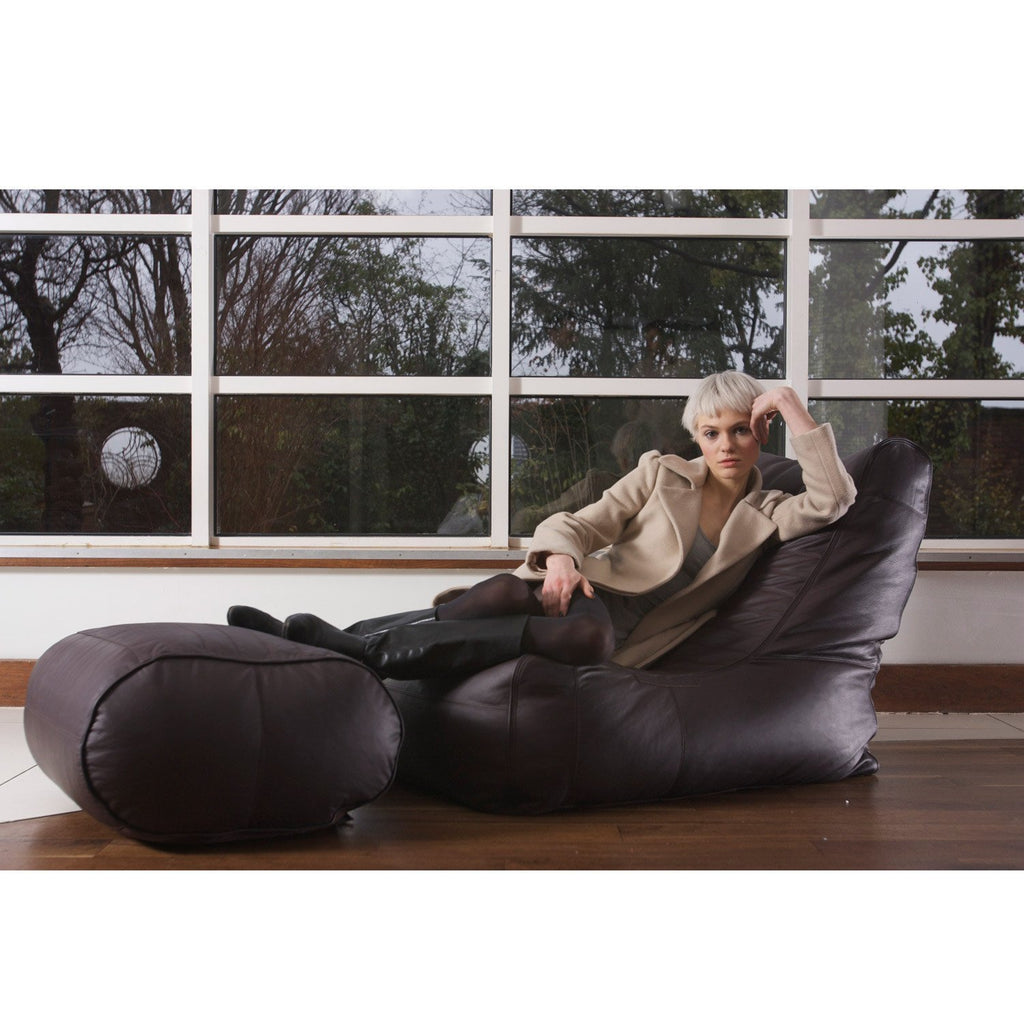 Pleasing Brown Leather Bean Bags Brown Leather Sofa Uk Bean Bags Pabps2019 Chair Design Images Pabps2019Com