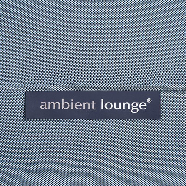 blue conversion lounger bean bag by Ambient Lounge
