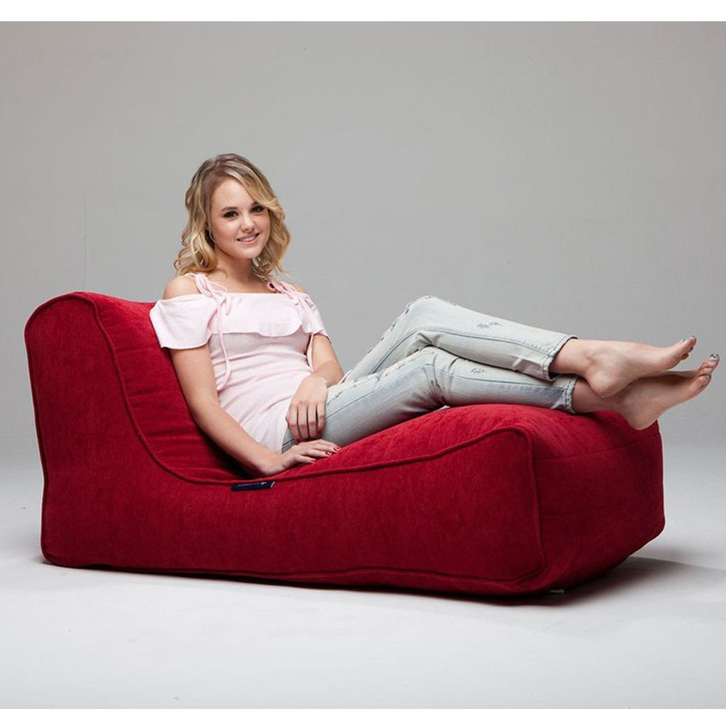 Interior Bean Bags Studio Lounger Wildberry Deluxe