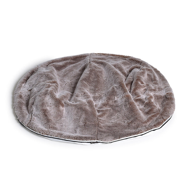 (L) Premium Cover - Cappuccino Frosted Faux Fur