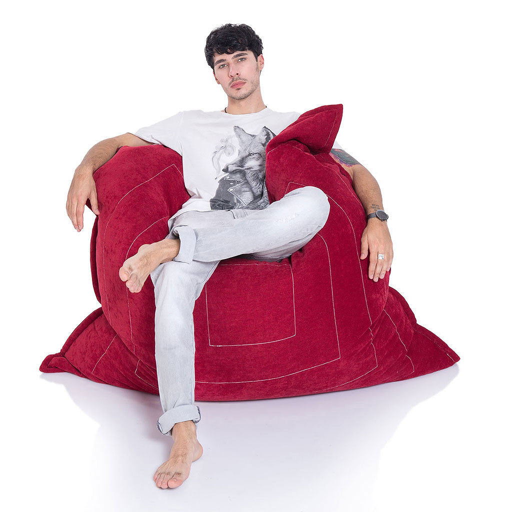 Interior Bean Bags Zen Lounger Wildberry Deluxe Bean