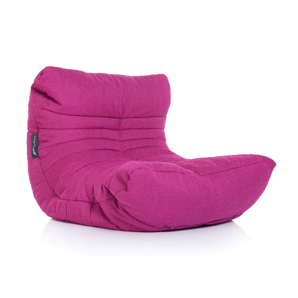 pink acoustic bean bag by Ambient Lounge