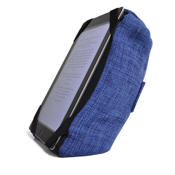 Tech Pillow Blue Ipad Rest And Head Cushion For Travel