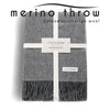 Australian Wool Throw - Deep Grey