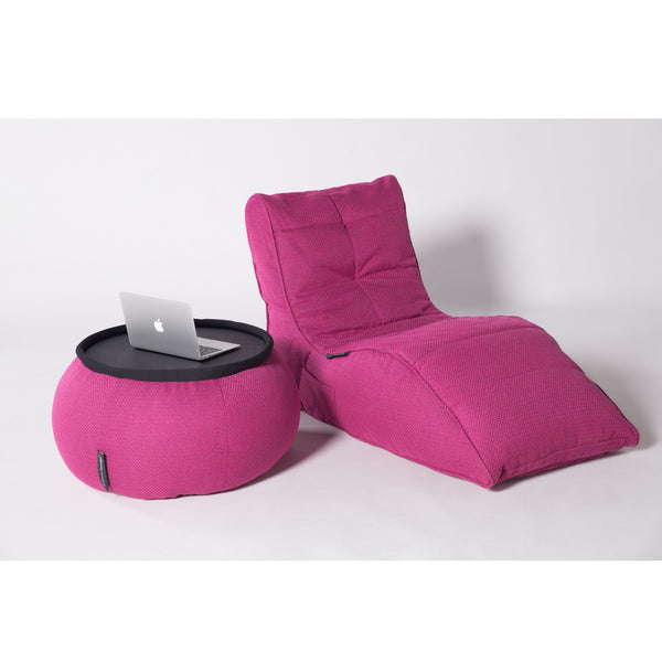 pink indoor table furniture by Ambient Lounge