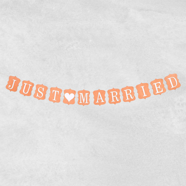 ''Just Married'' organisk - på snor