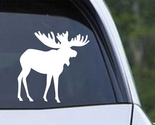 Moose Die Cut Vinyl Decal Sticker - Decals City