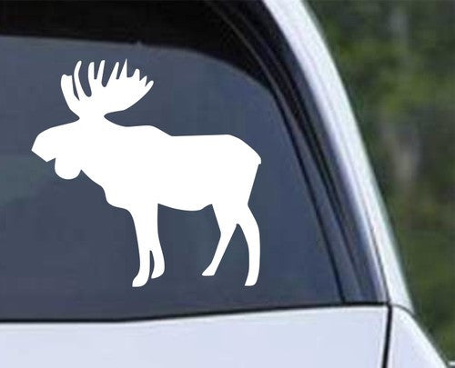 Moose Die Cut Vinyl Decal Sticker (ver. b) - Decals City