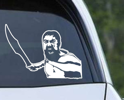 300 This is Sparta Die Cut Vinyl Decal Sticker - Decals City