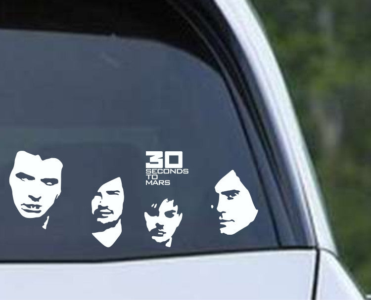 Thirty Seconds to Mars Die Cut Vinyl Decal Sticker - Decals City
