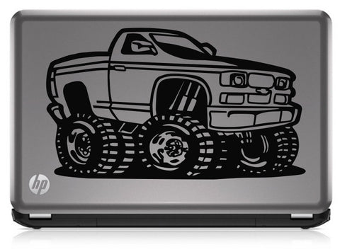 4 Wheel Drive Truck Die Cut Vinyl Decal Sticker
