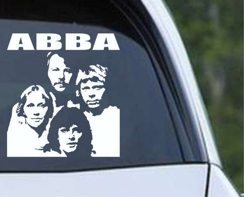 ABBA (02) Die Cut Vinyl Decal Sticker