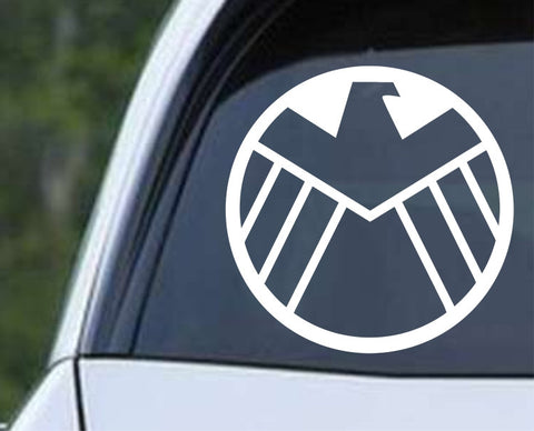 Agents of Shield Marvel Old Logo Die Cut Vinyl Decal Sticker - Decals City