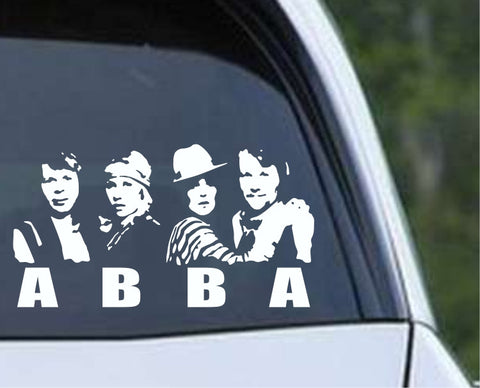 ABBA Die Cut Vinyl Decal Sticker