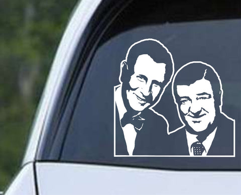Abbott and Costello (02) Die Cut Vinyl Decal Sticker - Decals City