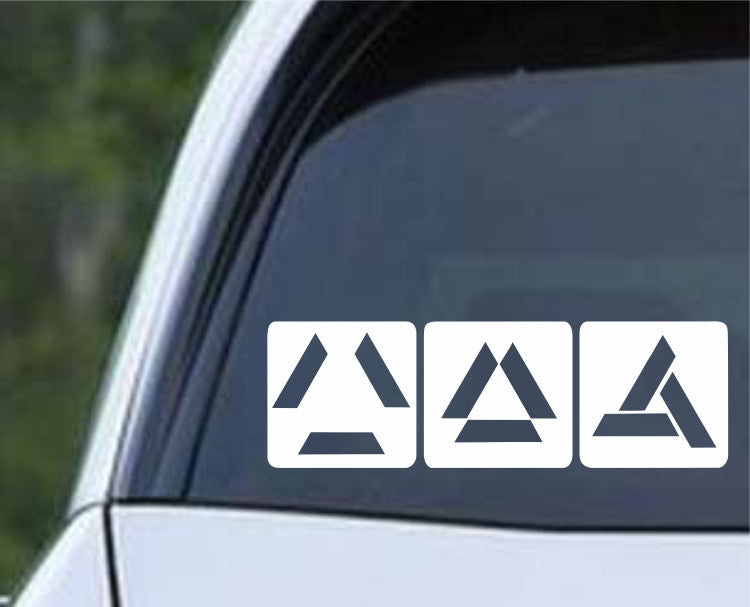 Assassin's Creed Abstergo Loading Logo Die Cut Vinyl Decal Sticker - Decals City