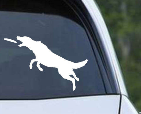 Agility Dog v11 Die Cut Vinyl Decal Sticker - Decals City