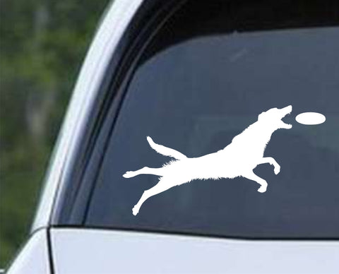 Agility Dog v12 Die Cut Vinyl Decal Sticker - Decals City