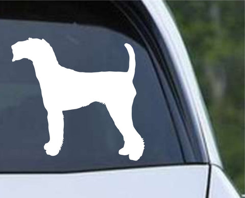 Airedale Terrier Dog (03) Die Cut Vinyl Decal Sticker