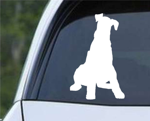 Airedale Terrier Dog (05) Die Cut Vinyl Decal Sticker