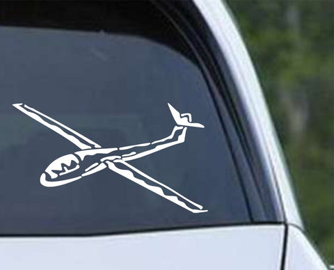 Airplane 20 Die Cut Vinyl Decal Sticker