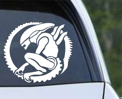 Aliens Xenomorph (ver d) Die Cut Vinyl Decal Sticker - Decals City