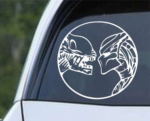 Aliens vs Predator AVP Die Cut Vinyl Decal Sticker - Decals City