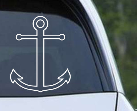 Anchor v3 Die Cut Vinyl Decal Sticker - Decals City