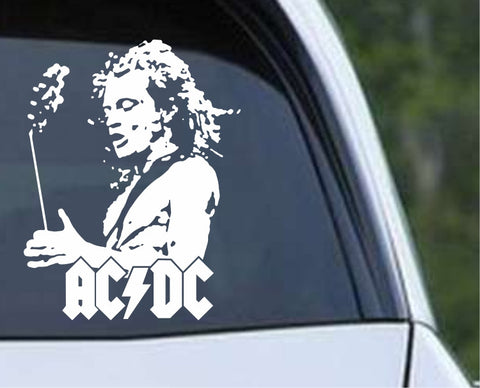 AC/DC Angus Young (01) Die Cut Vinyl Decal Sticker - Decals City