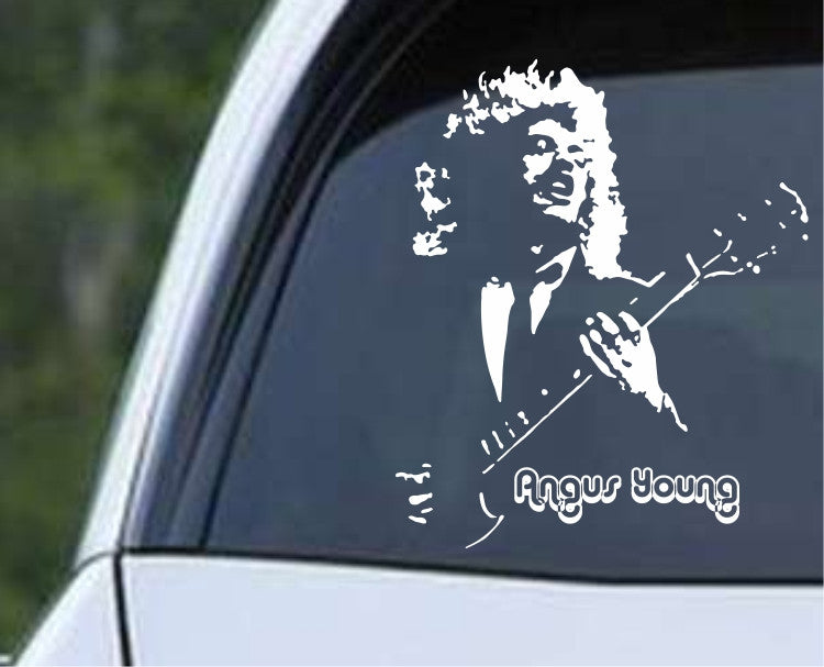 AC/DC Angus Young (02) Die Cut Vinyl Decal Sticker - Decals City