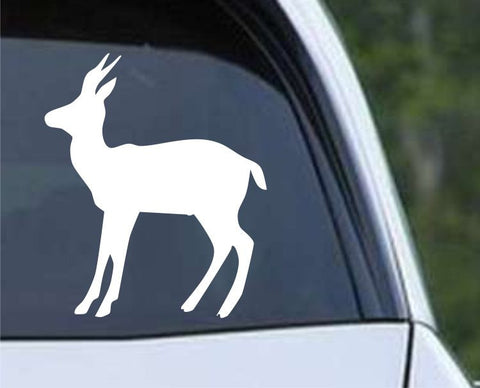 Antelope Silhouette Hunting HNT1-69 Die Cut Vinyl Decal Sticker - Decals City