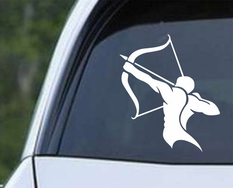 Archery - Traditional Style Die Cut Vinyl Decal Sticker - Decals City